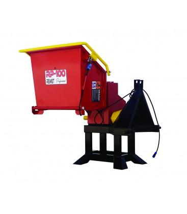 Машина за трошене на дървесина RP-100