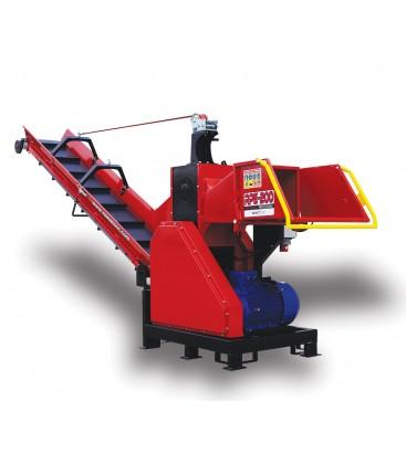 Конвейерна трошачка за дърва Red Dragon RPE 200
